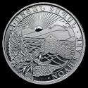 2012 1/4 oz Armenia Silver Noah's Ark Coin (BU)