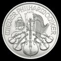 2019 1/25 oz Austria Platinum Philharmonic BU