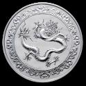2019 1 oz Niue $2 Celestial Animals The Green Dragon