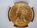 1901 S Liberty Head $10 Gold MS 63 NGC