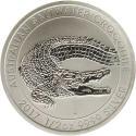 2017 1/2 oz Australia Silver Crocodile Coin (BU)