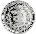 2020 1/2 oz Samoa Silver Serpent of Milan BU