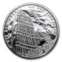 2017 1 oz Great Britain Silver Landmarks of Britain (Big Ben) Coin (BU)