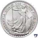 2014 1 oz Horse Privy British Silver Britannia Coin (BU)