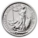 2017 1 oz British Silver Britannia (20th Anniversary) Coin (BU)