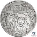 2015 1 oz Burundi Silver African Lion Coin (BU)