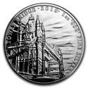 2018 1 oz Great Britain Silver Landmarks of Britain (Tower Bridge) Coin (BU)