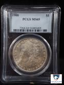 1900 Morgan Dollar MS 65 PCGS