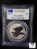 2014-P Australia Wedge Tailed Eagle MS 69 PCGS signed by John Mercanti