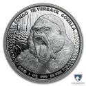 2015 1 oz Congo Silver Silverback Gorilla (BU)