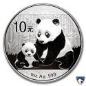 2012 1 oz China Silver Panda Coin BU